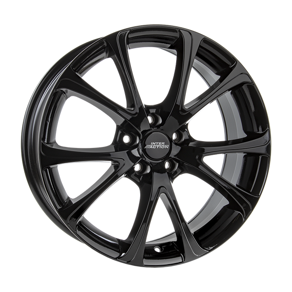 INTER ACTION PULSAR BLACK GLOSS 6,00x15 4x108,00 ET25,00